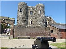 TQ9220 : Ypres Tower, Rye by Marathon