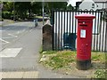 SK3744 : Horsley postbox ref DE21 295 by Alan Murray-Rust