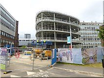 NZ2564 : Building work at Northumbria University City Campus by Oliver Dixon
