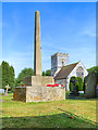 SP2069 : Rowington War Memorial and St Laurence's Church by David Dixon