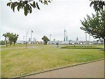 SZ6299 : Gosport, gardens by Mike Faherty