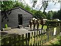 SK0015 : Mounting guard at the Great War Hut by John M