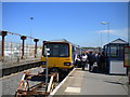 SD4060 : Train at Heysham Port railway station by Richard Vince