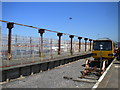 SD4060 : Disused platform, Heysham Port station by Richard Vince