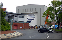 NS3274 : Ferguson Marine shipyard by Thomas Nugent