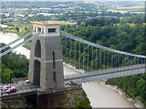 ST5673 : Clifton Suspension Bridge, East Tower by Alan Murray-Rust