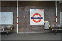 TQ0885 : Ickenham Underground Station by N Chadwick
