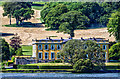 X0883 : Ballynatray House from the east bank of the River Blackwater by Mike Searle