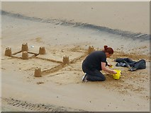 NZ6025 : Seaside fortifications by Oliver Dixon