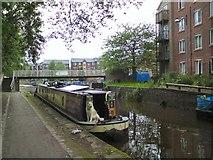SJ9398 : Crafty Narrowboat by Gerald England