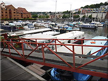 ST5772 : Bristol : Bristol Marina by Lewis Clarke