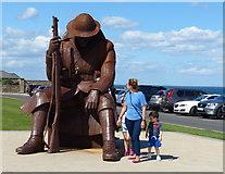 NZ4349 : Tommy statue by Mat Fascione