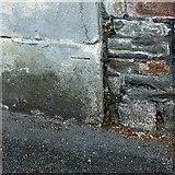 ST5773 : Bench mark, Dyrham Court, Clifton Park by Alan Murray-Rust