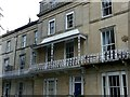 ST5773 : Balcony, 9 Lansdown Place, Clifton by Alan Murray-Rust