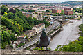 ST5672 : River Avon from Clifton Suspension Bridge by Ian Capper