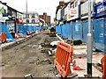 SJ8990 : Roadworks on Prince's Street by Gerald England