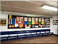 SJ9689 : Waiting room artwork by Gerald England