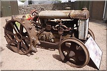 NT1472 : Fordson F tractor by Richard Webb