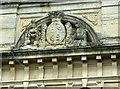 ST5773 : Royal coat of arms, Royal Promenade by Alan Murray-Rust