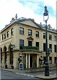 ST5673 : Former National Provincial Bank building, Caledonia Place by Alan Murray-Rust