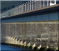 NO4029 : Close up of the Tay Road Bridge by Mat Fascione