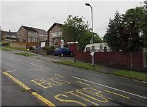 ST3090 : Two Rowan Way bus stops, Malpas, Newport by Jaggery