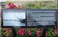 TQ3480 : Information board in the Hermitage Riverside Memorial Garden by Richard Humphrey