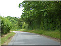 TL7964 : Road north from Great Saxham by Robin Webster