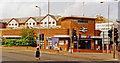 TQ1869 : Kingston-on-Thames station, entrance 1997 by Ben Brooksbank