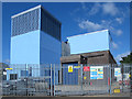TQ3689 : Victoria Line ventilation shaft, Pretoria Avenue, E17 by Mike Quinn
