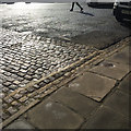 TF0207 : Three paving materials, All Saint's Place, Stamford by Robin Stott