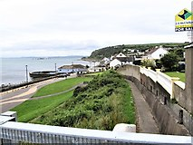 J4792 : The Marine Parade at Whitehead by Eric Jones
