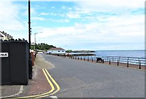 J4791 : View North along Whitehead's Marine Parade by Eric Jones