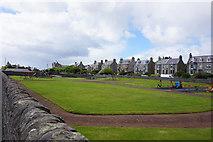 HU4741 : Park on Olaf Street, Lerwick by Ian S