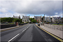 HU4741 : King Erik Street towards, King Harald Street, Lerwick by Ian S
