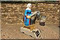 SK9771 : Sheriff de la Haye knight by Richard Croft