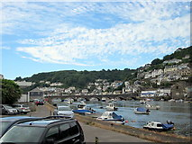 SX2553 : Bridge Over The Looe River by Roy Hughes