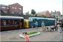 SD8010 : Class 37 locomotive at Bury Bolton Street by Richard Hoare