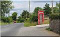J2731 : Telephone Call Box near Hilltown by Rossographer