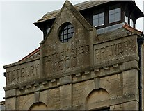 ST8893 : Former Tetbury Brewery building by Alan Murray-Rust