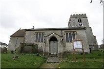 SU4980 : St Mary's Church East Ilsley by Bill Nicholls