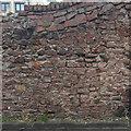 ST5773 : Rubble wall, face to Gordon Road, Victoria Park, Bristol by Robin Stott