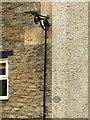 ST8992 : Old gas lamp bracket, Fox Hill, Tetbury by Alan Murray-Rust