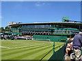 TQ2472 : Court 16 Wimbledon by Paul Gillett