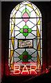 TQ3184 : Stained glass window, Union Chapel, Islington by Julian Osley