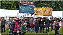 NS5964 : Bar for the TRNSMT festival on Glasgow Green by Mike Pennington