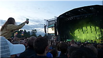 NS5964 : Radiohead at the TRNSMT Festival, Glasgow Green by Mike Pennington
