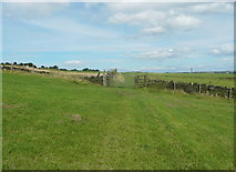 SE0424 : Sowerby Bridge FP38 approaching a gate by Humphrey Bolton