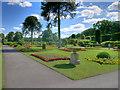 SE5007 : Brodsworth Hall, The Fountain Garden (1) by David Dixon