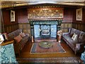SO8698 : A fireside corner in Wightwick Manor by Oliver Dixon
